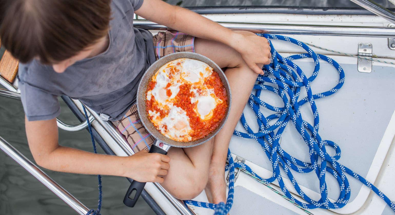 Obozy kulinarno-żeglarskie